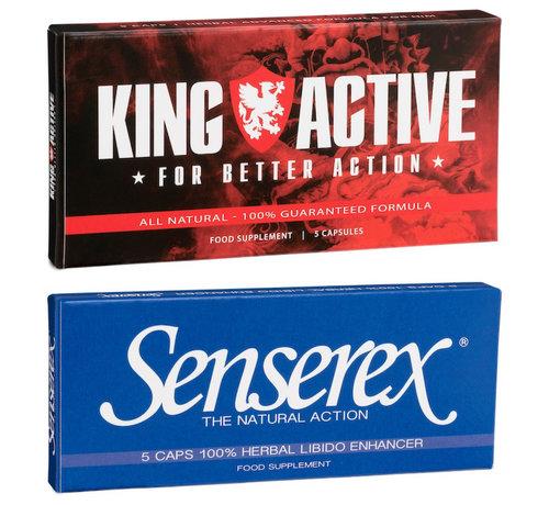 King Active Potenzmittel Paket - 10 Kapseln - Potenzmittel