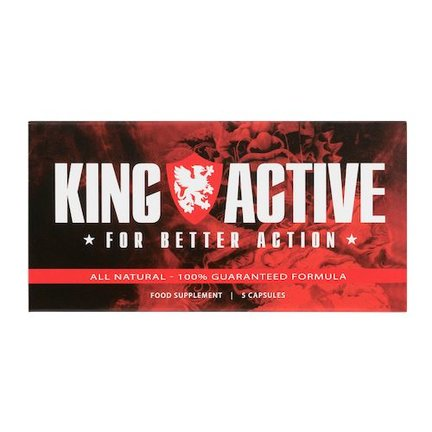 King Active voor mannen |  Potentie en erectie | Erectiepil op natuurlijke basis