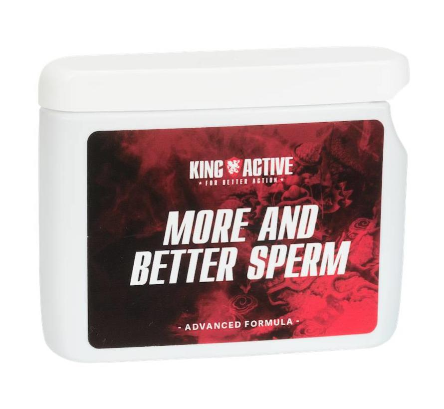 More and Better Sperm - 60 capsules