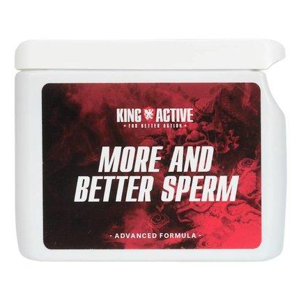 King Active | Zaadproductie | Meer en Beter Sperma