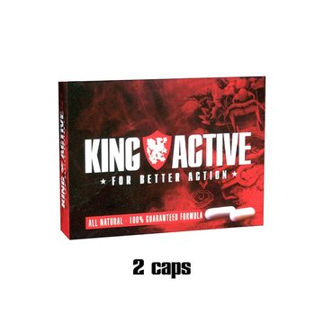 King Active King Active - 2 caps