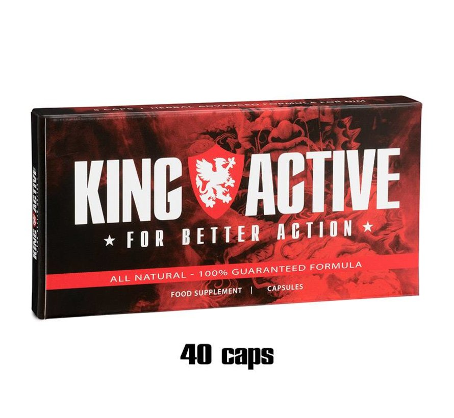 King Active Display - 40 capsules