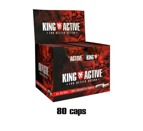 King Active King Active Display - 80 capsules