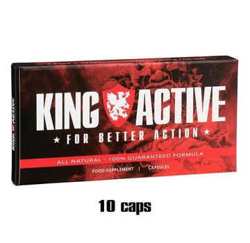 King Active King Active - 10 caps