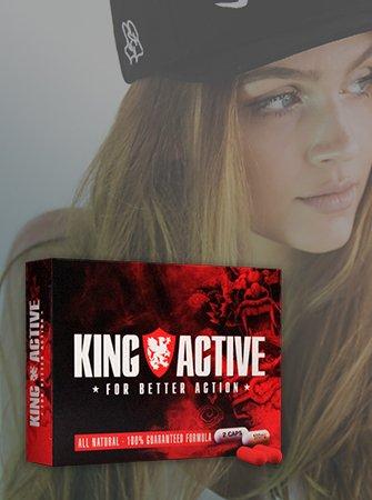 King Active | Stimuleert Potentie en Libido