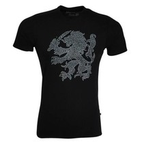 Ferlucci T-shirt - Black - Lion
