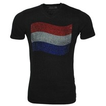 T-shirt - Black - Dutch flag