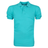VDHT - Polo Homme - Coupe Droite - Turquoise