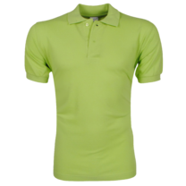 VDHT - Trendy Solid Color Men's Polo Shirt - Regular Fit - Green