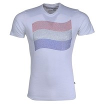 T-shirt - White - Flag