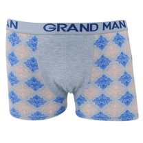 Grand Man - Boxershort - Grau - Mit Trendy Design