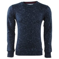 Earthbound - Heren Trui - Ronde Hals - Sweat - Navy
