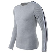 Carisma Carisma - Men Pullover - Round Neck - Fine Knitted - Grey