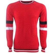 Carisma Carisma - Men's Pullover - Round Neck - Sweat - Red