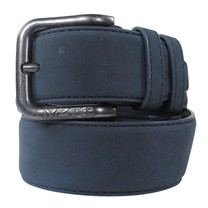 MZ72 MZ72 - Leather Belt - Belt Soft - Navy