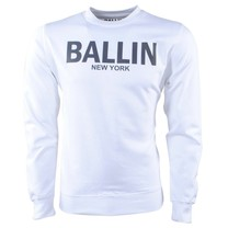 Ballin Ballin - Heren Trui - Sweat - Wit