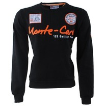 Geographical Norway Geographical Norway - Heren Sweater - Monte Carlo - Ronde Hals - Folo - Zwart