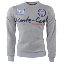 Geographical Norway Geographical Norway - Heren Sweater - Monte Carlo - Ronde Hals - Folo - Grijs