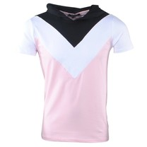 Carisma Carisma - Men's T-Shirt - Hooded - Pink - White - Black