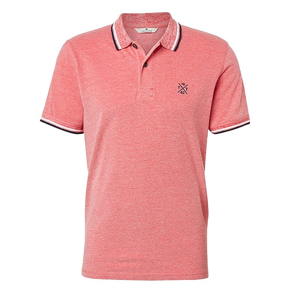 Tom Tailor Tom Tailor - Men's Polo Shirt - Red