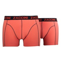 Zaccini Zaccini - Lot de 2 boxers - Uni - Orange