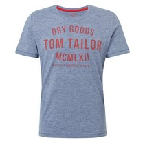 Tom Tailor Tom Tailor - Men's T-Shirt - Round Neck - Dark Blue