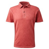 Tom Tailor Tom Tailor - Heren Polo - Trendy Design - Oranje
