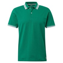 Tom Tailor Tom Tailor - Men's Polo Shirt - Plain Green