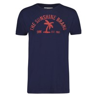 Shiwi Shiwi  - Men's T-Shirt - Round Neck - Palm - Dark Navy
