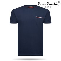 Pierre Cardin Pierre Cardin - Men's T-Shirt - Round Neck - Navy