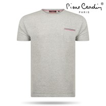 Pierre Cardin Pierre Cardin - Men's T-Shirt - Round Neck - Grey