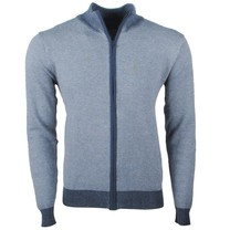 Earthbound - Herren Strickjacke - Feinstrick - Navy