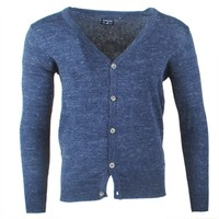 Earthbound - Granddag - Strickjacke - Navy