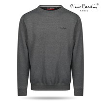Pierre Cardin Pierre Cardin - Men's Sweater - Round Neck - Dark Grey