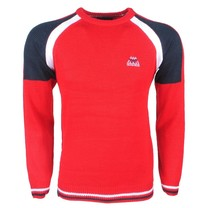 The Wild Stream MZ72 - Pull pour homme - Tricot - Rouge