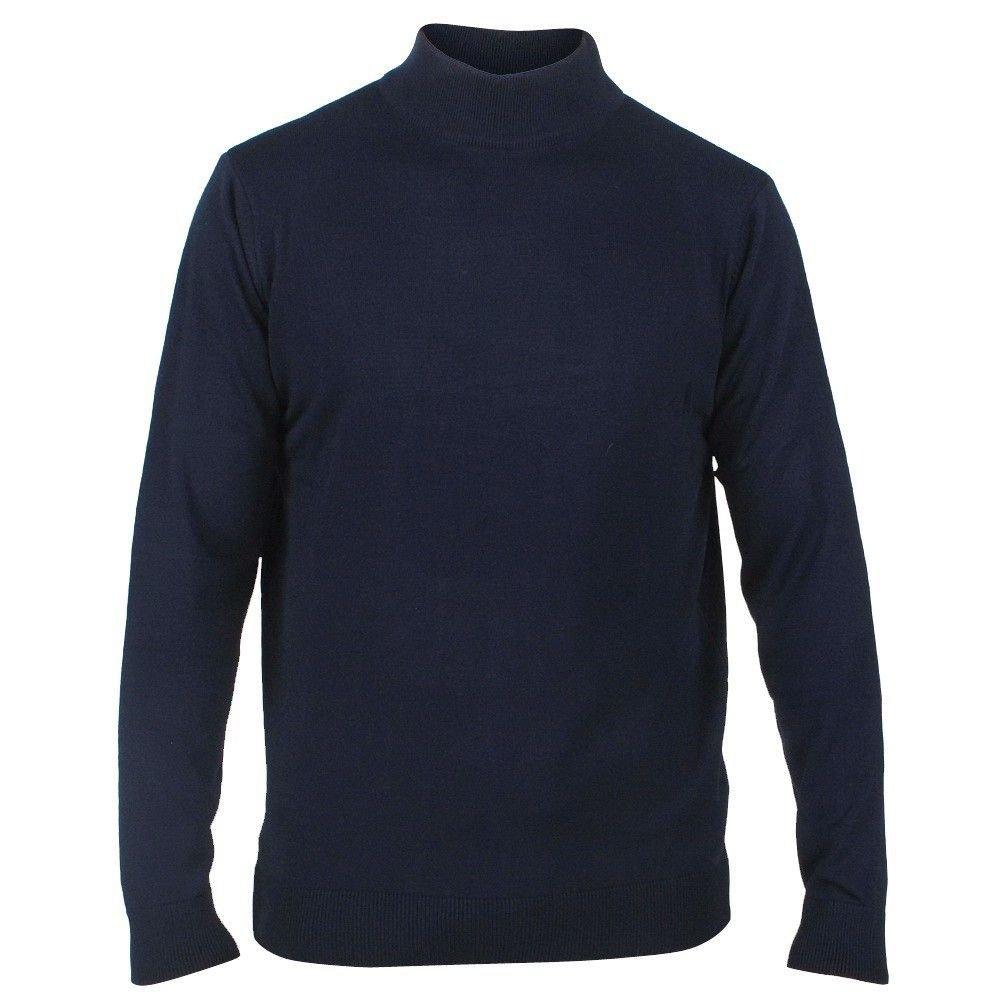 New Republic Enrico Polo - Men`s Knitted round neck - Navy