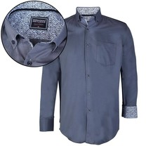 Donadoni Donadoni - Men Shirt - Regular Fit - Grey