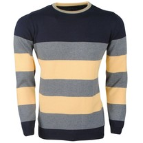 Ferlucci Ferlucci -  Exclusive Men`s Pullover - 100% Cotton - Daniel - Yellow
