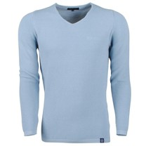 Ferlucci Ferlucci -  Exclusive Men`s Pullover - 100% Cotton - Bernardo - Blue