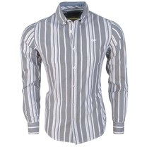 MZ72 MZ72 - Men's Shirt - Dane - Grey