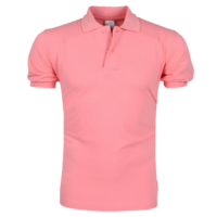 VDHT - Trendy Solid Color Men's Polo Shirt - Regular Fit - Pink