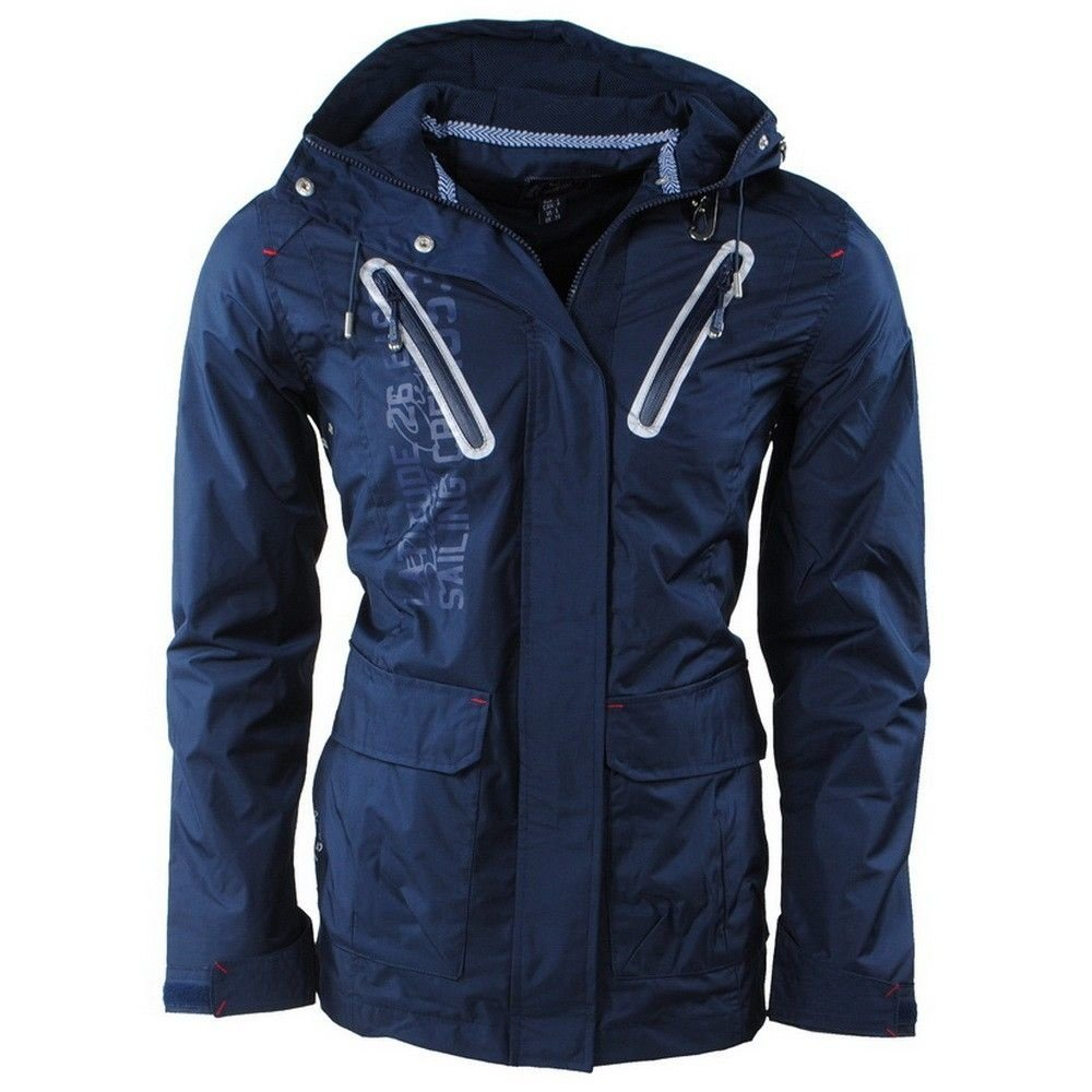 Geographical Norway Geographical Norway - Herren Sommerjacke - Kapuze - Bretling - Navy