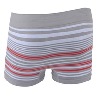 Uomo - Boxer Homme - À rayures - Gris