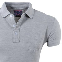 MZ72 MZ72 - Men Polo - Heroes - Preto - Light Grey