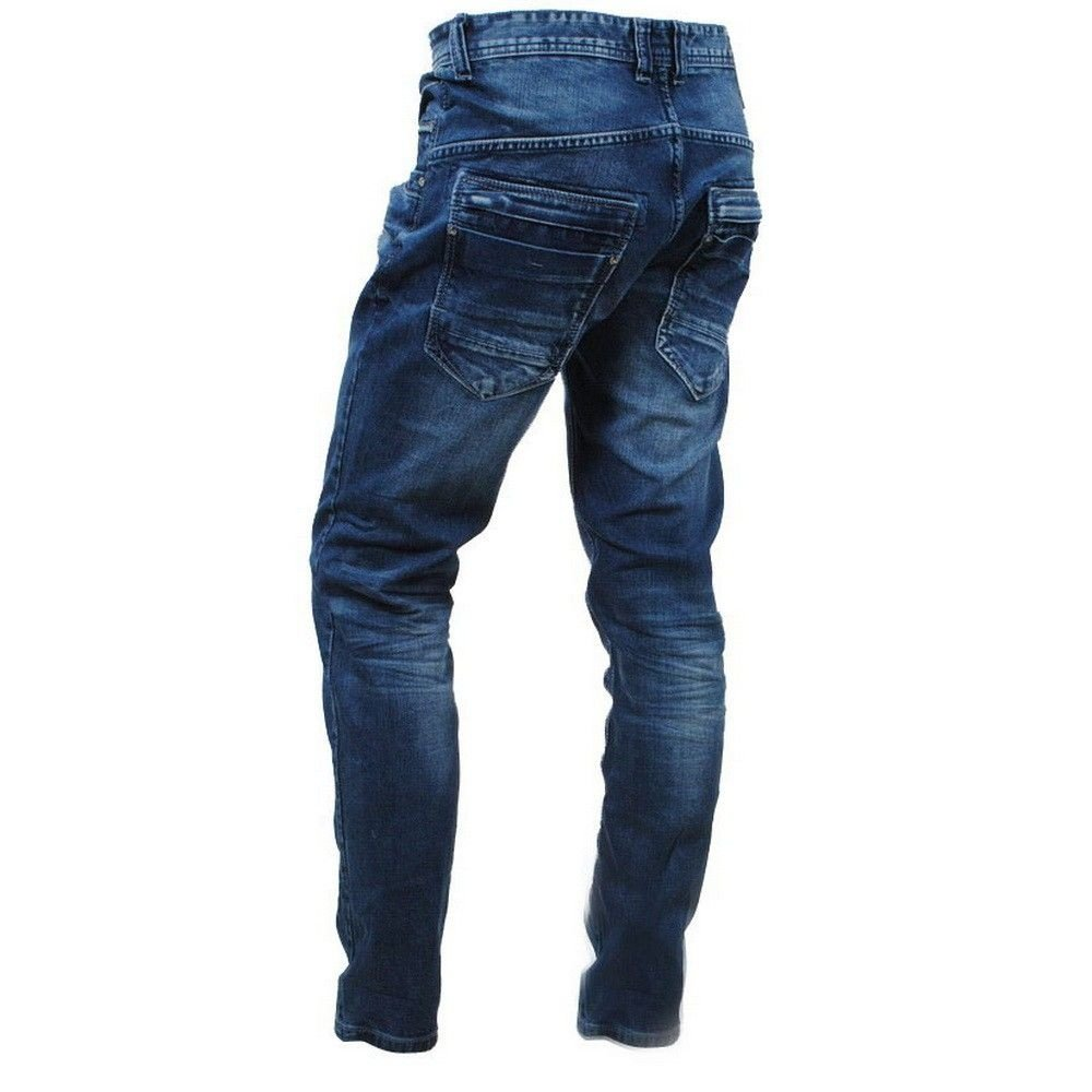 Cars Jeans Cars Jeans - Heren Jeans - Tapered Fit - Stretch - Lengte 34 - Blackstar - Stone Albany Wash