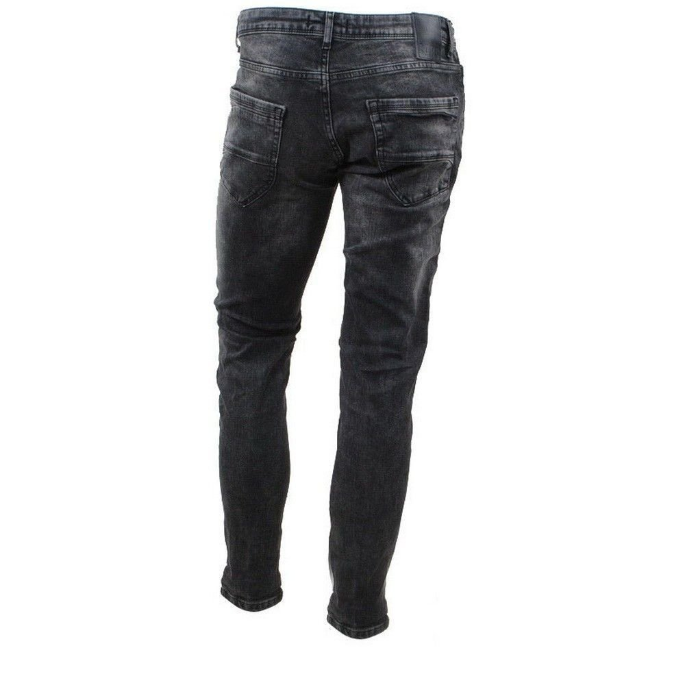 Cars Jeans Cars Jeans - Men's Jeans - Slim Fit - Stretch - Length 36 - Blast - Black Used