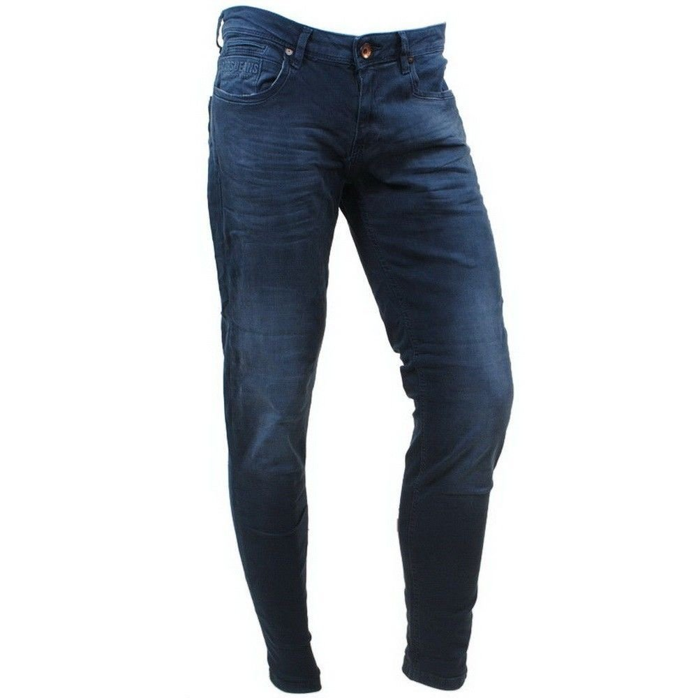 Cars Jeans Cars Jeans - Heren Jeans - Slim Fit - Stretch - Lengte 36 - Blast - Dallas Blue
