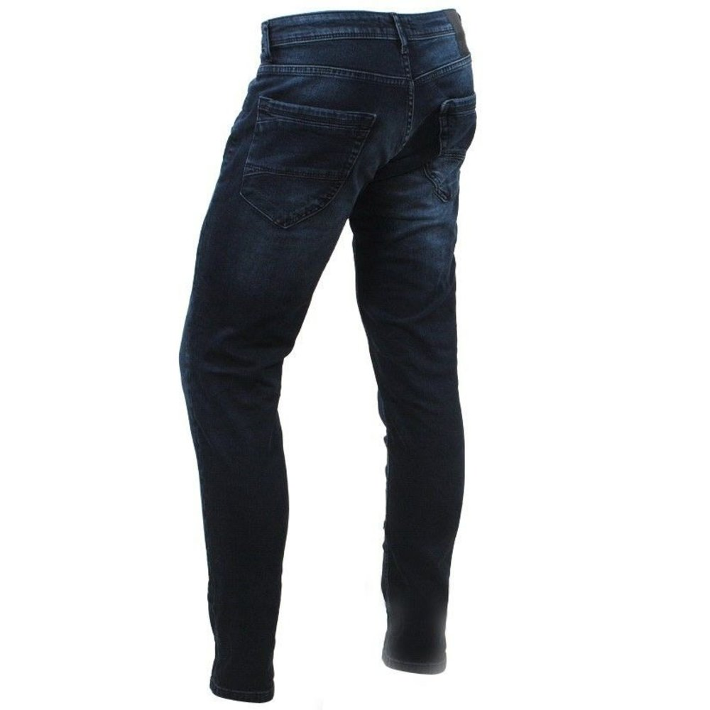 Cars Jeans Cars Jeans - Men's Jeans - Slim Fit - Stretch - Length 36 - Blast - Blue Black