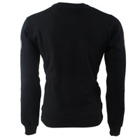Geographical Norway Geographical Norway - Men Sweater - Monte Carlo - Round Neck - Folo - Black
