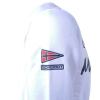 Geographical Norway Geographical Norway - Herren Pullover - Monte Carlo - Sweat - Rundhals - Folo - Weiß